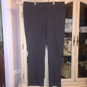 Lane Bryant the Allie gray Dress Pants 18R